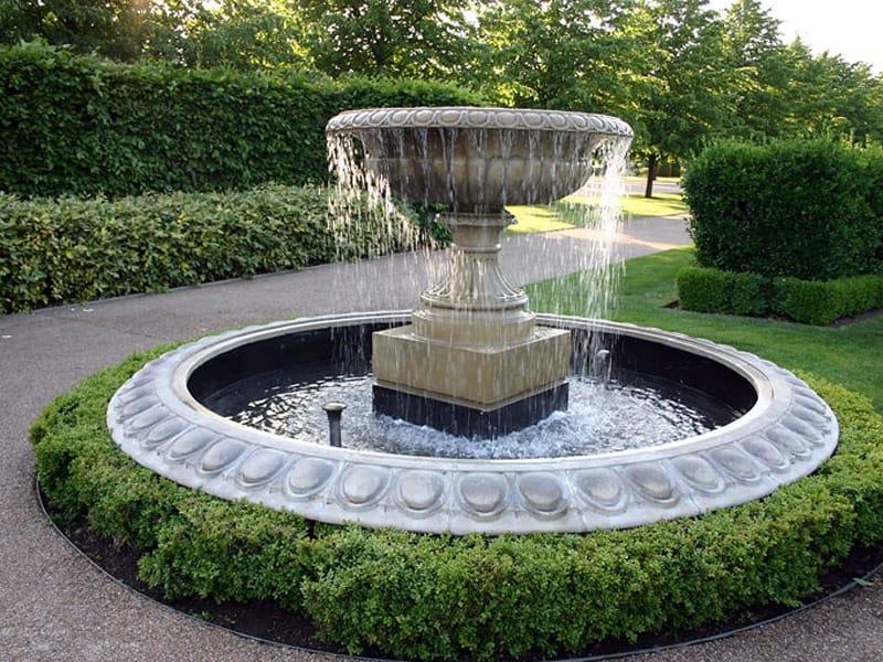 Как сделать из бетона чашу для фонтана